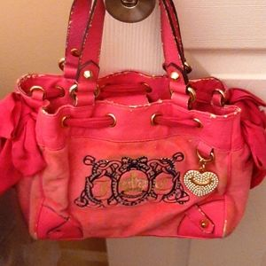 Juicy Couture small handbag with matching wallet!